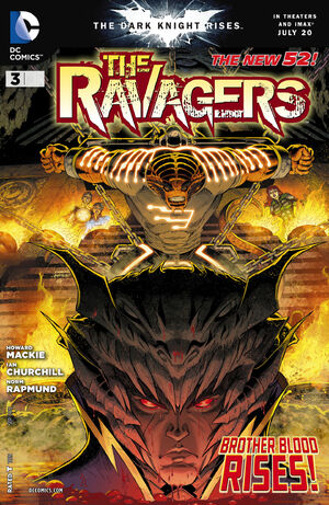 Cover for Ravagers #3
