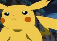 Pikachu sad