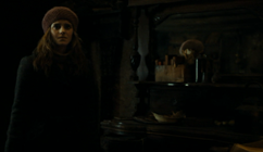 Hermione in Bathildas home