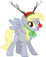 Derpy Hooves Hearth's Warming Eve Card Creator