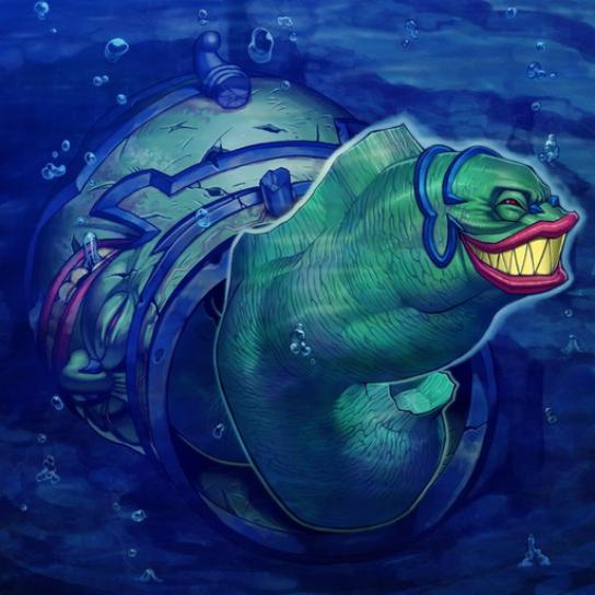 Eel of Edacity (Moray of Greed) - Yu-Gi-Oh! TCG/OCG Card