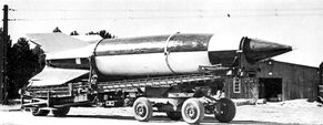 Captured V-2 Rocket
