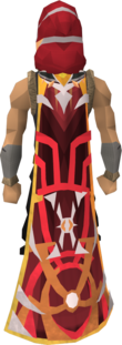 Veteran cape (10 year) equipped