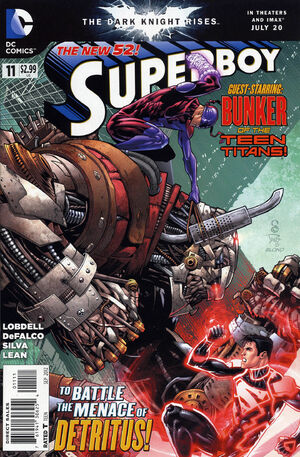 Cover for Superboy #11