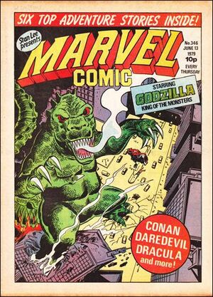 Marvel Comic Vol 1 346