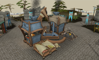 Gielinor Games preparation station