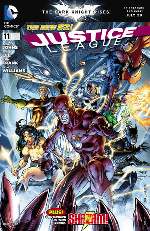Cover for Justice League #11