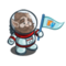 Astronaut Gnome-icon