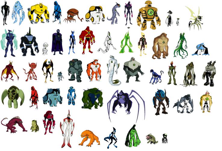 Ben 10 ultimate alien all aliens ben10 voltagebd Choice Image
