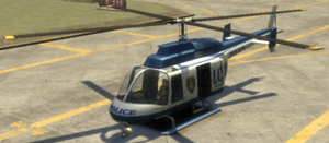 Police Maverick GTA IV