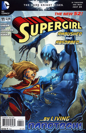 Cover for Supergirl #11