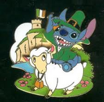 Stitch Ireland Pin