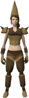 Splitbark armour equipped female