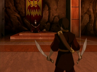 Zuko confronting Ozai