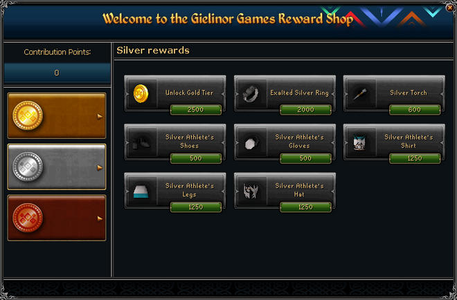 Gielinor Games Reward Shop (silver) interface