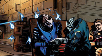 Homeworlds Garrus Vakarian squad