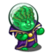Brainiac Gnome-icon