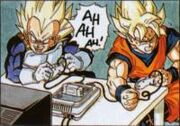 Vegeta+Goku games LOL