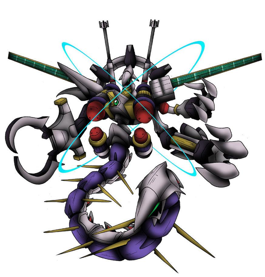 Descubra o Digimon pela imagem Galacticmon