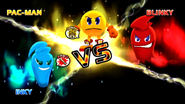 Pacman VS Blinky VS Inky