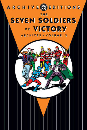 Cover for Seven Soldiers of Victory Archives #3