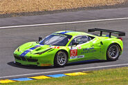 Krohn Racing's Ferrari 458 Italia Driven by Tracy Krohn, Niclas Jonsson and Michele Rugolo