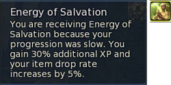 Energy of Salvation