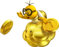 Golden Lakitu NSMB2