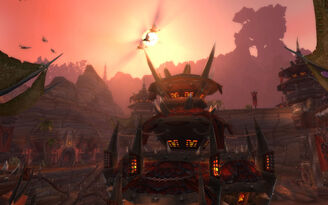Cata orgrimmar evening 01