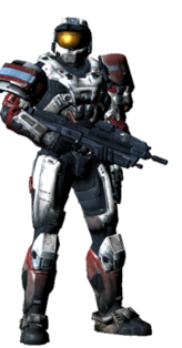 Halo Reach Spartan Mark IV White