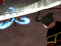 Zuko blocks Azula&#39;s fire