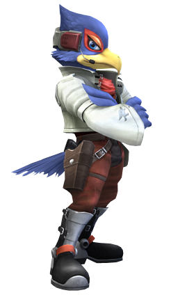 I predict SSB4's roster here. Falco_Lombardi(Clear)