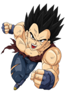 Vegeta en dragon ball gt