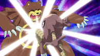 EP653 Hitmonlee usando patada sato alta
