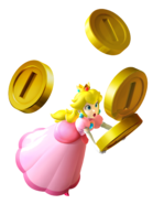 PeachHoldingCoins