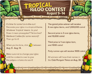 TropicalIglooContestTCPT354