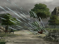 Katara stops her attack