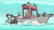 S1e2 beavers attack boat