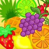 Fruit frenzy background