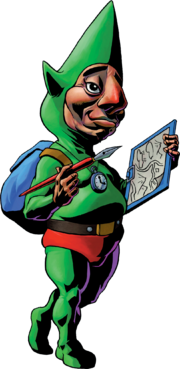 Tingle Artwork - Majora&#39;s Mask