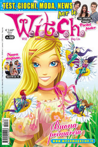 Witch cover 132