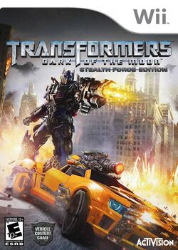 Transformers Dark of the Moon Stealth Force Edition (Wii) (NA)
