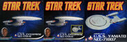 Aoshima Star Trek starships box fronts