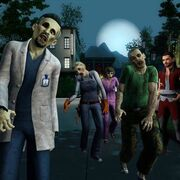 TS3Supernatural Zombies approach