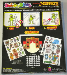 Muppet shrinky dinks 2