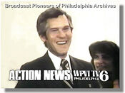WPVI-TV's Channel 6 Action News' Marc Howard Video Promo From December 1978