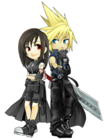 Tifa and Cloud