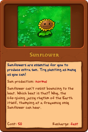 New Sunflower almanac