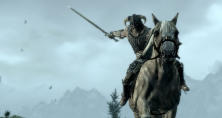Skyrim mounted combat-1-