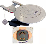 Franklin Mint USS Enterprise-D